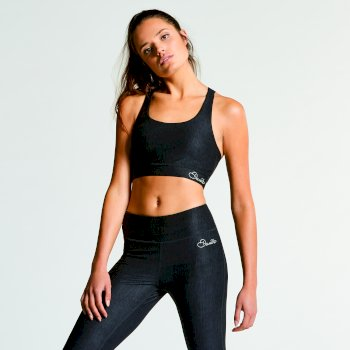 Dare 2B Women's Outstretch Sports Bra Black