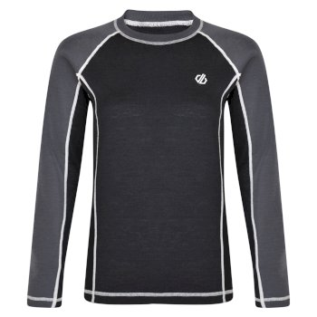 Advanced - Damen Baselayer-Set mit Wolle Black Ebony