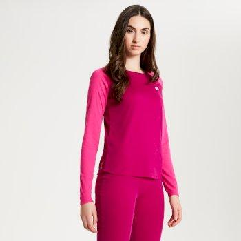 Dare2b Women's Exchange Thermal Base Layer Set - Fuchsia Cyber Pink
