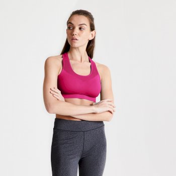 Dare2B Dont Sweat It Sports Bra - Active Pink