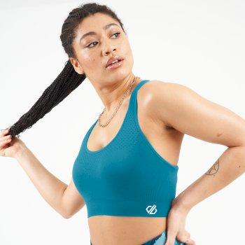 Don't Sweat It Sport-BH Mit Mittlerer Unterstützung Blau