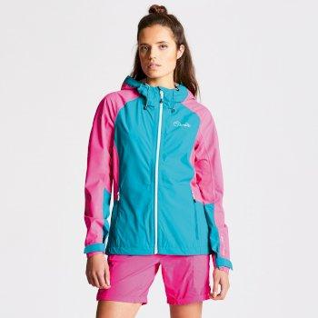 Women's Recourse II Lightweight Jacket Shoreline Blue/Cyber Pink