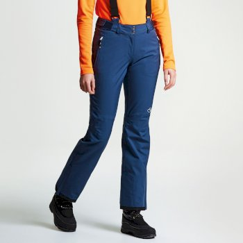 Stand For II Damen-Skihose blau