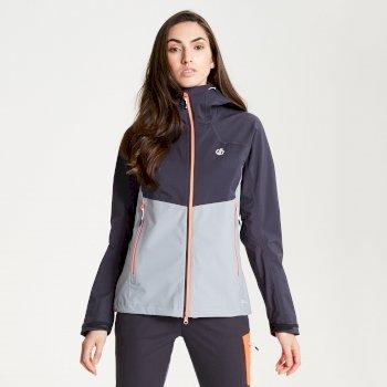 Sierra Seamsmart - Damen Jacke - leicht & wasserdicht Argent Grey