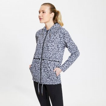 Dare2b Deviation Waterproof Jacket - White Zoological Print