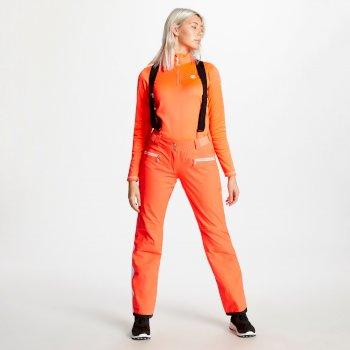 Antedate - Damen Skihose Fiery Coral