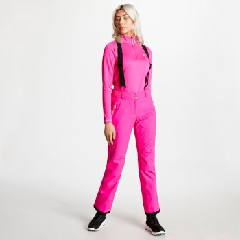 Effused - Damen Skihose Cyber Pink