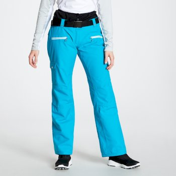 Liberty - Damen Skihose Fresh Water Blue