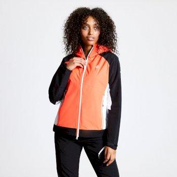 Checkpoint Wasserdichte Jacke Für Damen Orange