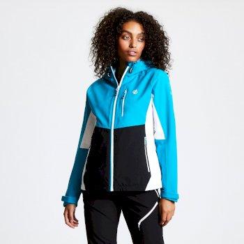 Veritas II wasserdichte Jacke mit Kapuze für Damen Blau