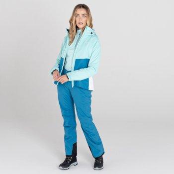 Effused II wasserdichte Skihose für Damen Blau