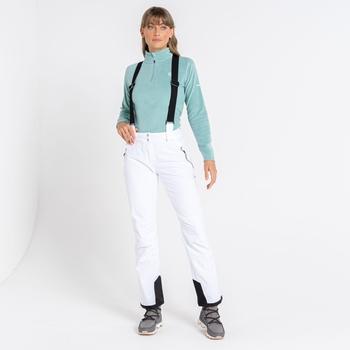 Effused II wasserdichte Skihose für Damen Weiß