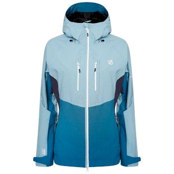 Diverse Wasserdichte Stretch-Jacke Für Damen  Grün