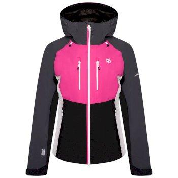 Diverse Wasserdichte Stretch-Jacke Für Damen  Rosa