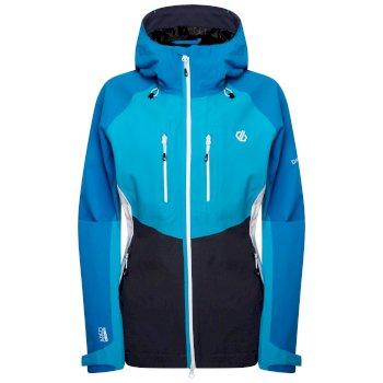 Diverse Wasserdichte Stretch-Jacke Für Damen  Blau