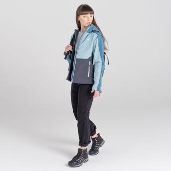 Compete II Wasserdichte Jacke Für Damen  Grau