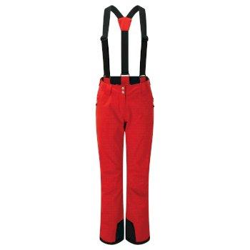 Diminish Wasserdichte Skihose Für Damen Rot
