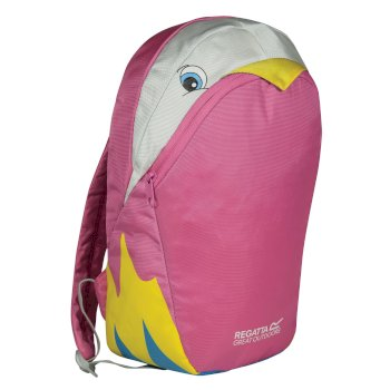 Regatta Kids' Zephyr Animal Day Pack - Parrot Pink