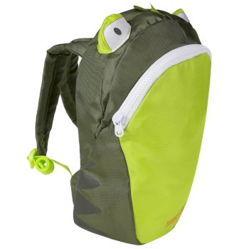 Regatta Kids' Zephyr Animal Day Pack Frog Green
