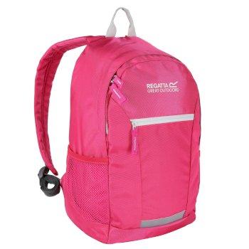 Regatta Kids' Jaxon lll 10L Rucksack Hot Pink Platinum
