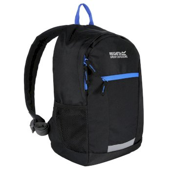 Regatta Kids' Jaxon lll 10L Rucksack - Black French Blue