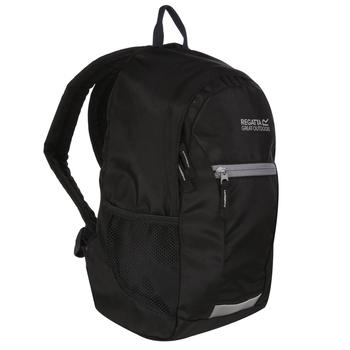 Regatta Kids' Jaxon Lll 10L Rucksack - Black Rock Grey