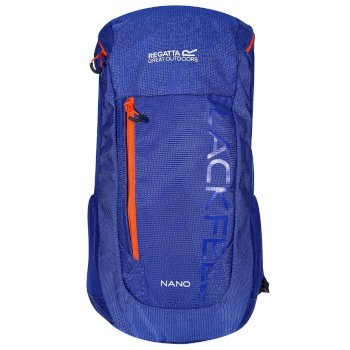 Regatta Kids' Blackfell III Nano 12L Rucksack - Surfspray Blaze Orange