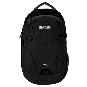 Paladen 25 Litre Laptop Backpack Black Ebony