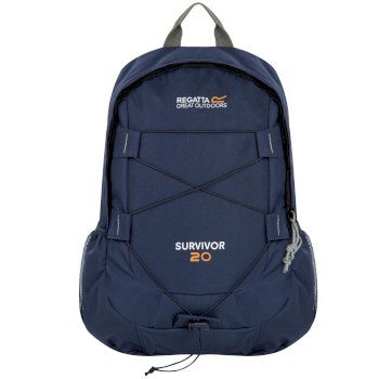 Regatta Survivor III 20 Litre Backpack Rucksack Navy
