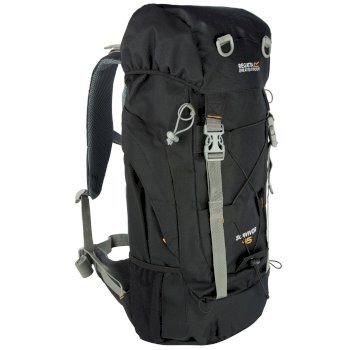 Regatta Survivor III 45L Rucksack Black