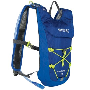 Regatta Blackfell II 2 Litre Hydration Backpack Oxford Blue Lime Zest