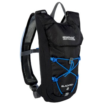 Regatta Blackfell II 2 Litre Hydration Backpack Black French Blue
