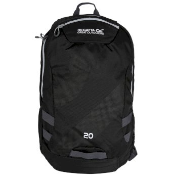 Regatta Brize II 20L Rucksack - Black Light Steel