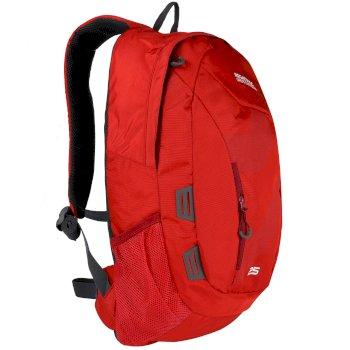 Regatta Altorock II 25 Litre Backpack Rucksake Pepper Delhi Red