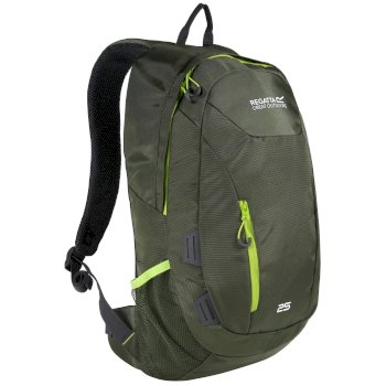 Regatta Altorock II 25 Litre Backpack Rucksake Racing Green Lime