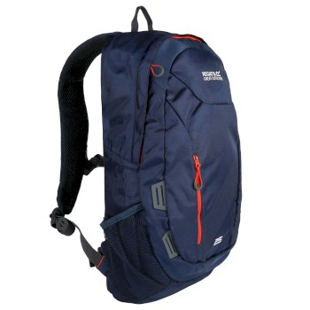 Regatta Altorock II 25 Litre Backpack Rucksake Dark Denim Amber Glow