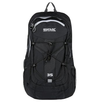 Regatta Atholl II 35 Litre Backpack Rucksake Black Steel