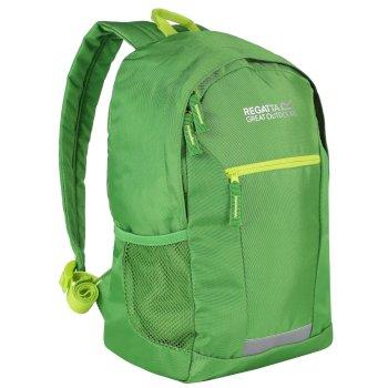 Regatta Kids Jaxon II 10 Litre Daypack Rucksack Extreme Green