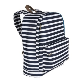 Regatta Print 20L Backpack Navy Stripe