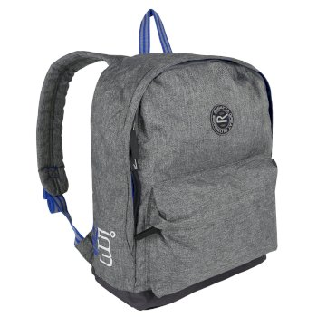 Print 20 Liter Easy Grab Zip Puller Daypack Nautical Grey