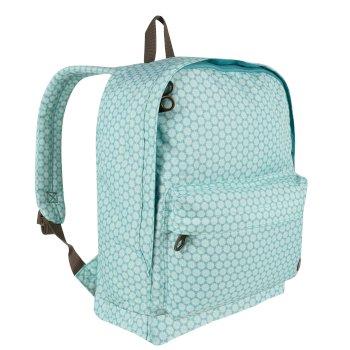 Regatta Print 20 Litre Easy Grab Zip Puller Daypack Aqua