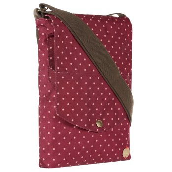 Regatta Elsie Cross Body Bag - Beaujolais Polka Dot