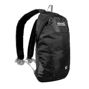 Regatta Marler 10L Rucksack - Black Light Steel