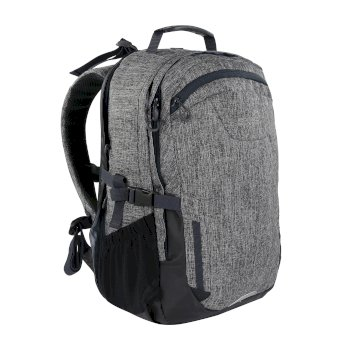 Regatta Cartar 25L Laptop Backpack - Grey Marl