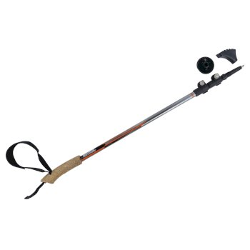 Nordic-Walking-Stock Schwarz