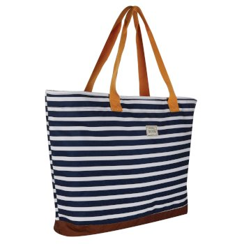 Regatta Stamford Beach Bag - Navy Stripe