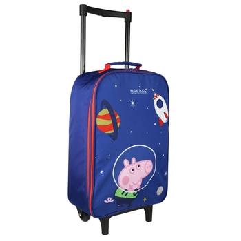 Peppa Wutz Koffer Blau