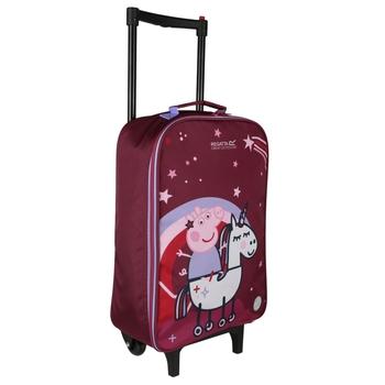 Peppa Wutz Koffer Lila