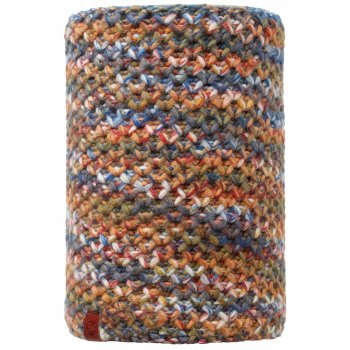 Buff Knitted Neckwarm - Orange