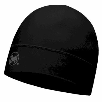 Buff Microfiber Hat Black